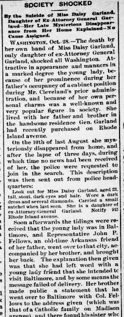 garland The Lafayette advertiser November 04, 1893