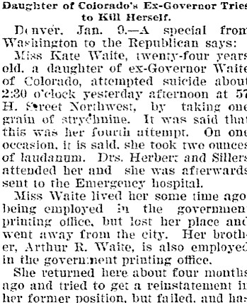 waite kate Colorado Transcript, January 12, 1898